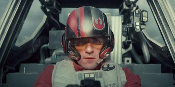 Star Wars VII Oscar Isaac Pilote X-Wing