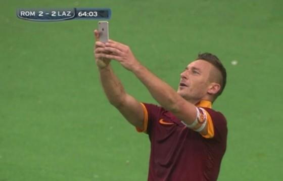 Totti-Selfie