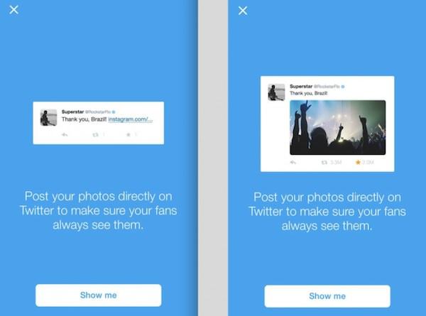 Twitter Recommande Eviter Instagram Photos