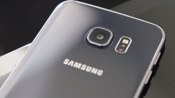 Galaxy S6 Arriere