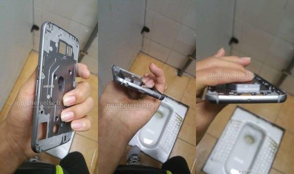 Galaxy S6 Coque Metallique Fuite