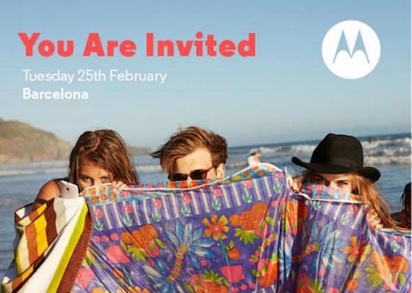 Motorola Invitation 25 Fevrier 2015
