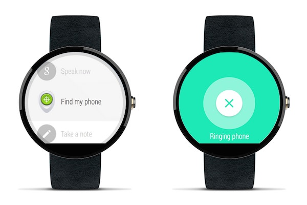 Android Wear Localiser Telephone