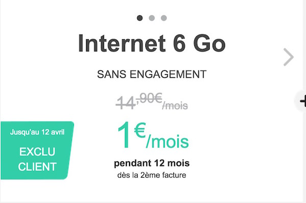 Bouygues Forfait 6 Go Promo