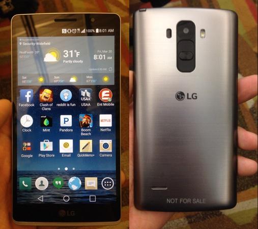 Fuite LG G4