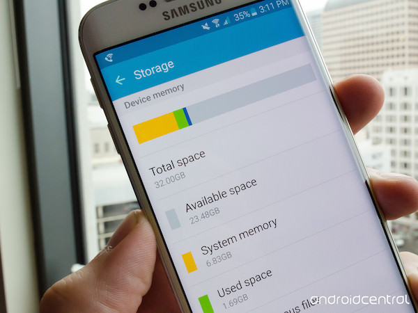 Galaxy S6 23 Go Utilisables