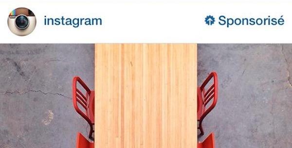 Instagram Publicite