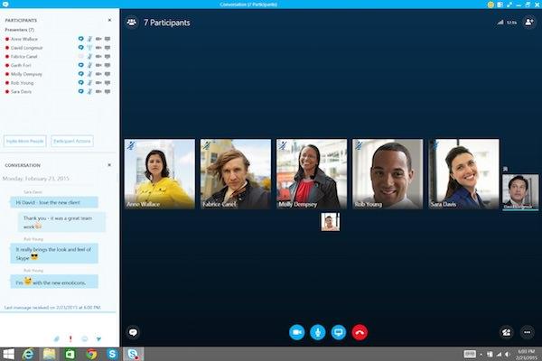 Skype pour les Entreprises