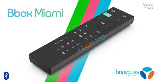 Telecommande Miami Voice Bbox Miami