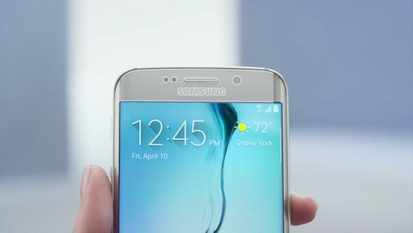 Galaxy S6 Edge Avant Ecran