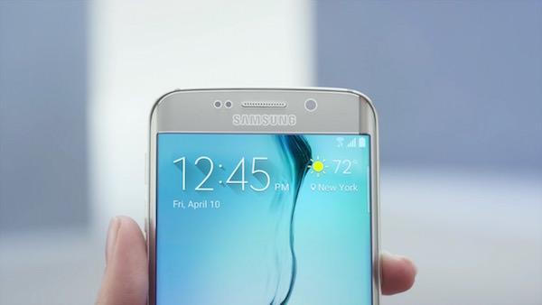 Galaxy S6 Edge Avant Ecran