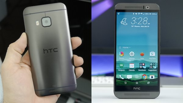 HTC One M9 Avant Arriere