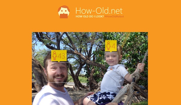 How-Old.net Microsoft Age Photo