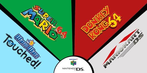 Jeux Nintendo DS Nintendo 64 Sur Wii U