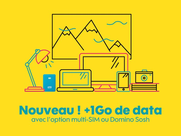 Sosh 1 Go Data Multi-SIM