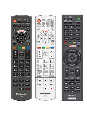 Telecommandes Bouton Netflix