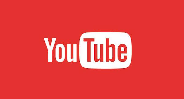 YouTube Logo Rouge