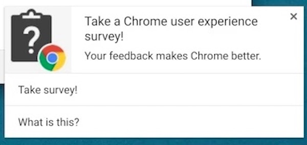 Chrome Extension Questionnaires Google
