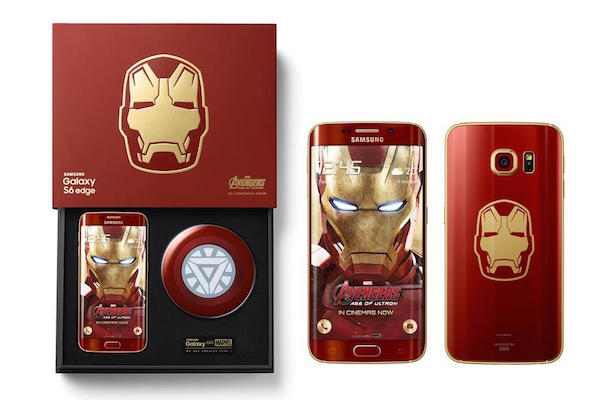 Galaxy S6 Edge Edition Iron Man