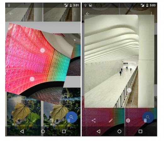 android la nouvelle application photos de google se d voile avant l 39 heure kulturegeek. Black Bedroom Furniture Sets. Home Design Ideas
