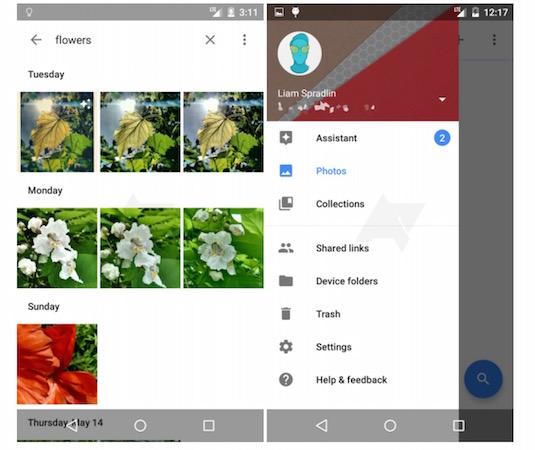 Google Nouvelle Application Photos Android Fuite