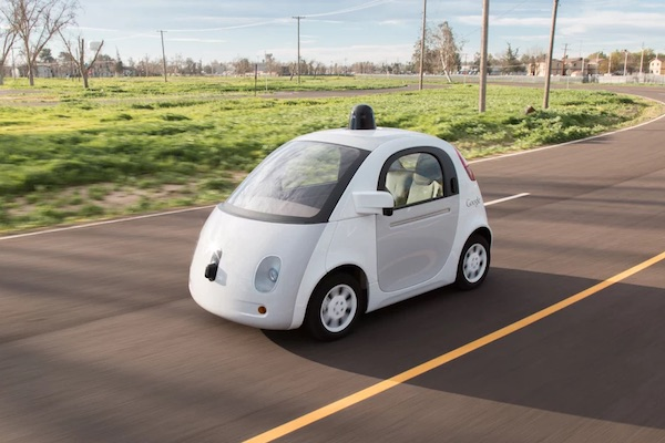 Google Voiture Sans Conducteur Autonome