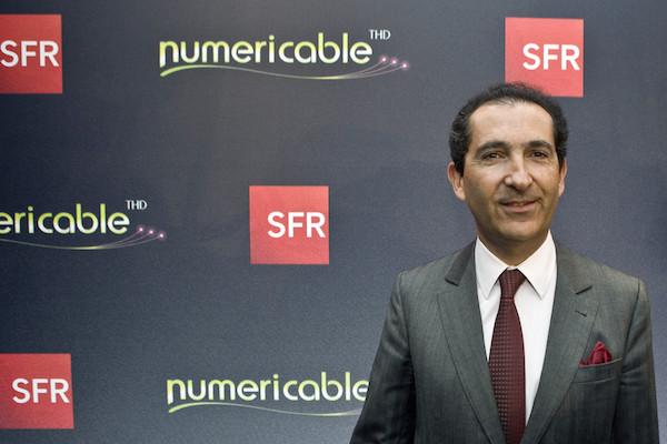 Patrick Drahi SFR Numericable
