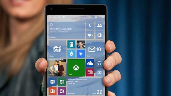 Windows 10 Mobile Smartphone