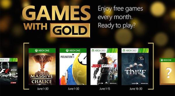 Xbox Jeux Offerts Juin 2015