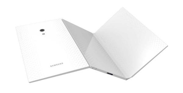 Concept Tablette Samsung Pliable