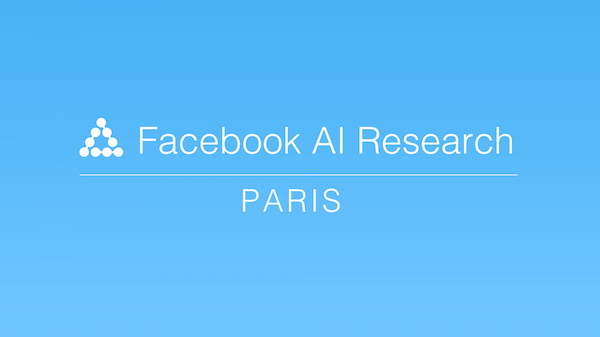 Facebook Intelligence Artificielle Paris