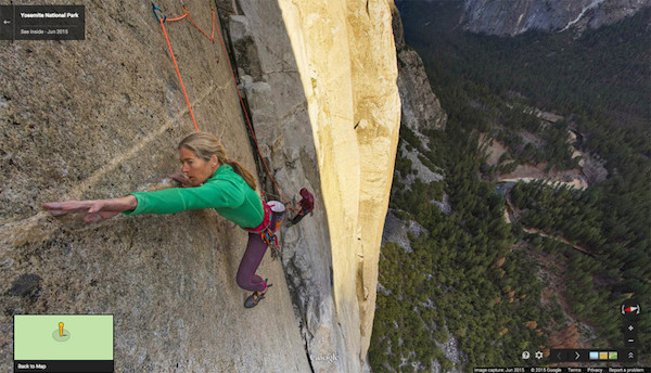Google Maps Street View El Capitan