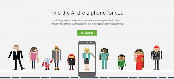 Google Trouve Smartphone Adapte