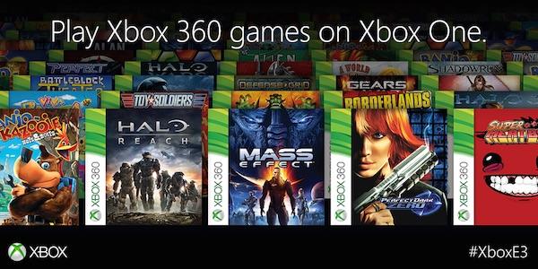 Jeux Xbox 360 sur Xbox One
