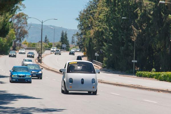 Voiture Autonome Google Route