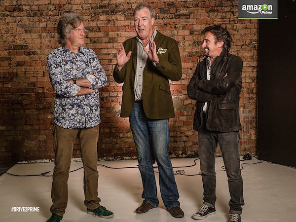 Amazon Video Jeremy Clarkson, Richard Hammond James May