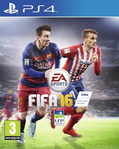 FIFA 16 Jaquette Antoine Griezmann