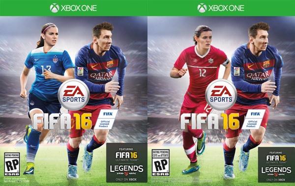 FIFA 16 Jaquette Femmes