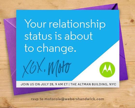 Motorola Conference 28 Juillet 2015