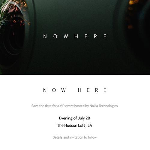 Nokia Conference 28 Juillet 2015