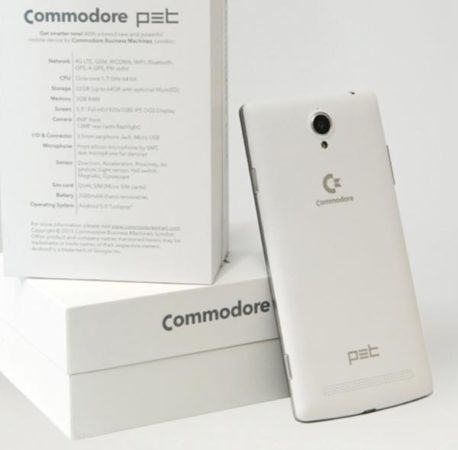 Pet commodore