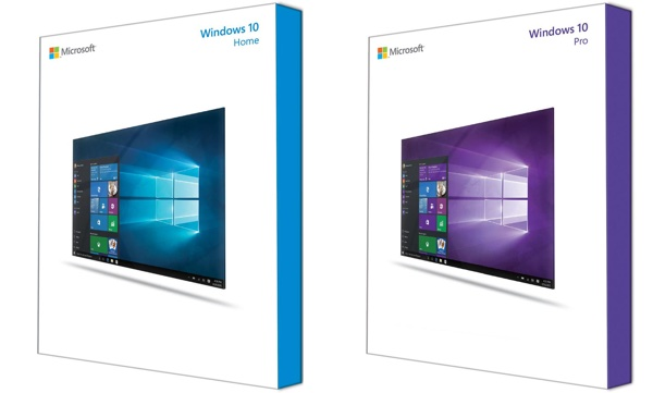 Windows 10 Boite