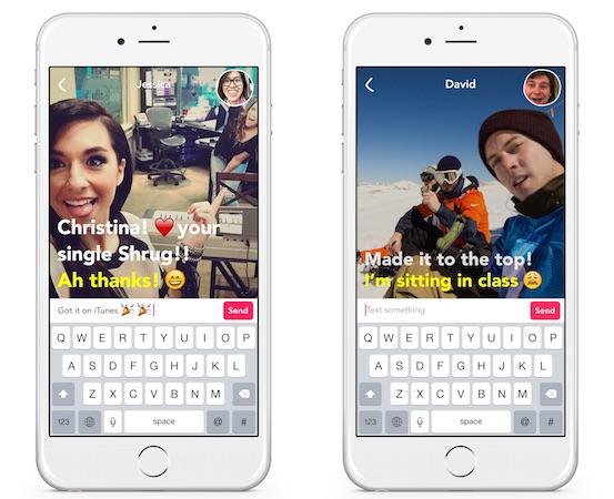 Yahoo Livetext Application iPhone