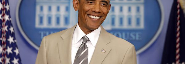 Barack Obama Beige