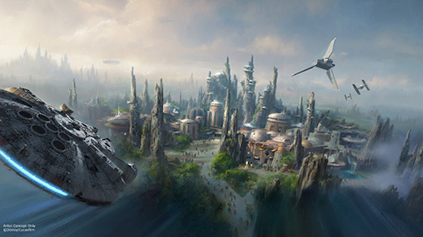 Disneyland Star Wars Univers 2
