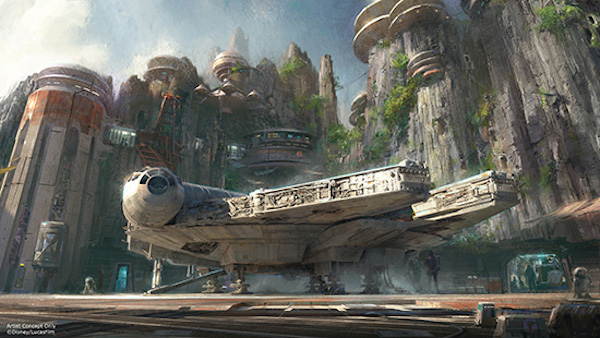Disneyland Star Wars Univers