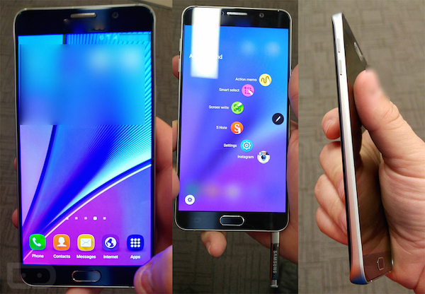 Fuite Galaxy Note 5