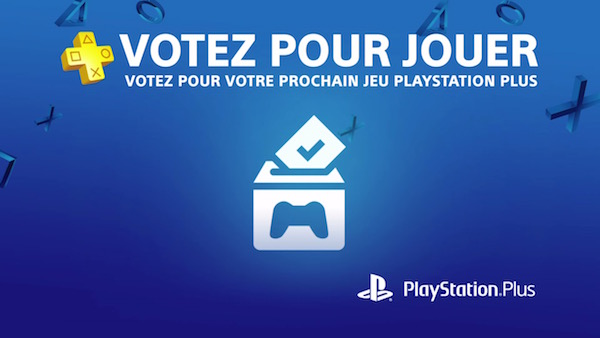 PlayStation Plus Votez Pour Jouer