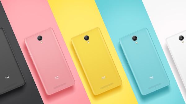 Xiaomi Redmi Note 2 Arriere