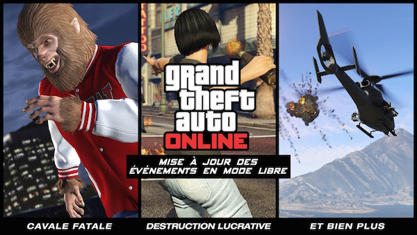 GTA 5 Mise A jour Evenements Libre